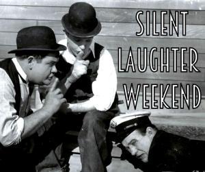 silent laughter logo